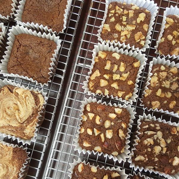 Quinoa brownies - gluten-free, dairy-free, vegan