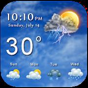 Weather Live : Forecast & Radar App Report on Mobile Action - App