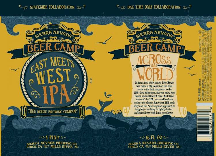 Logo of Sierra Nevada Beer Camp 2017: East Meets West IPA (Tree House Collab)