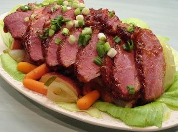 Glazed Corned Beef & Cabbage N  Irish Stout Beer Recipe
