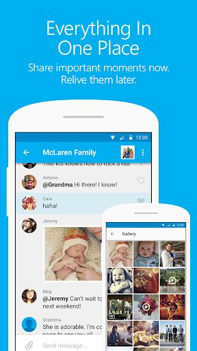 GroupMe screenshot 2