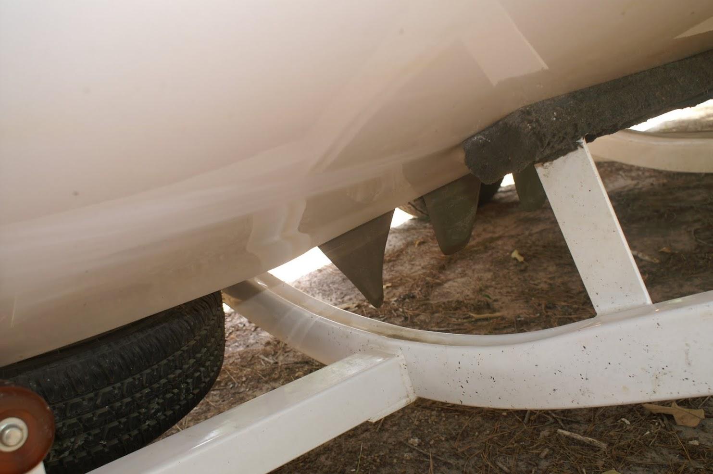 how to fix a bent skeg