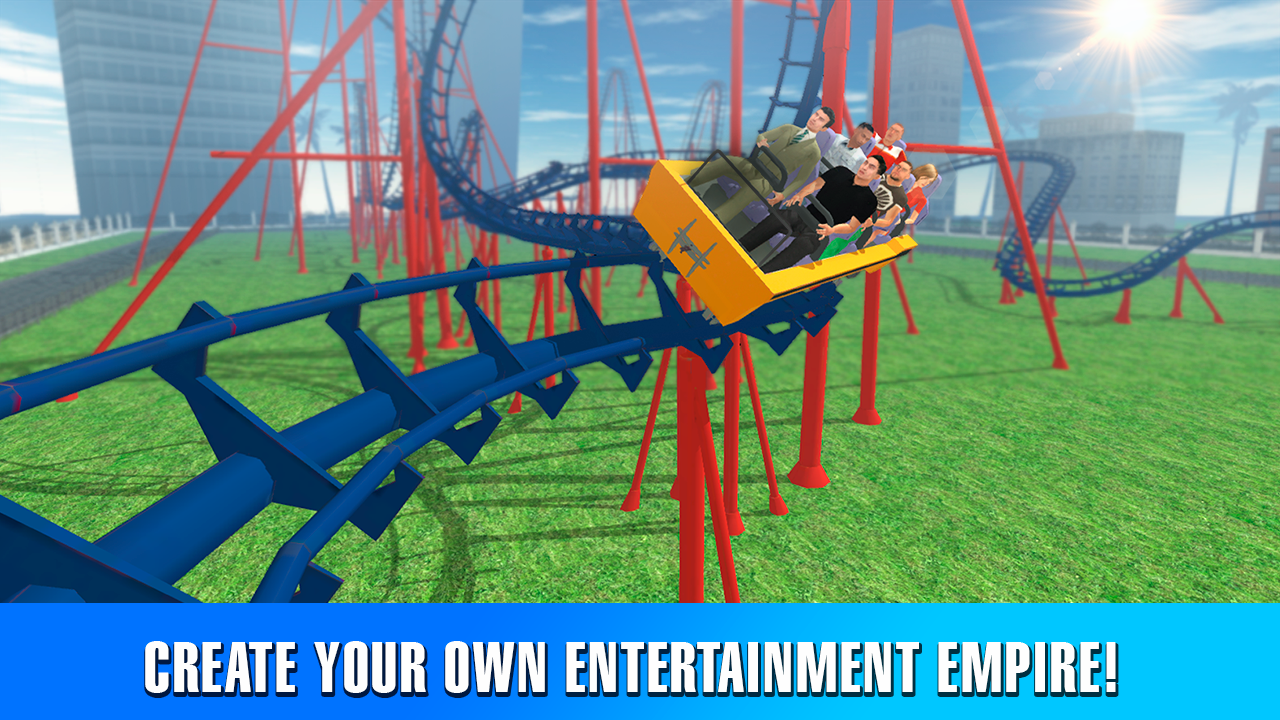 Crazy roller coaster simulator android apps on google play for Build your own house simulator