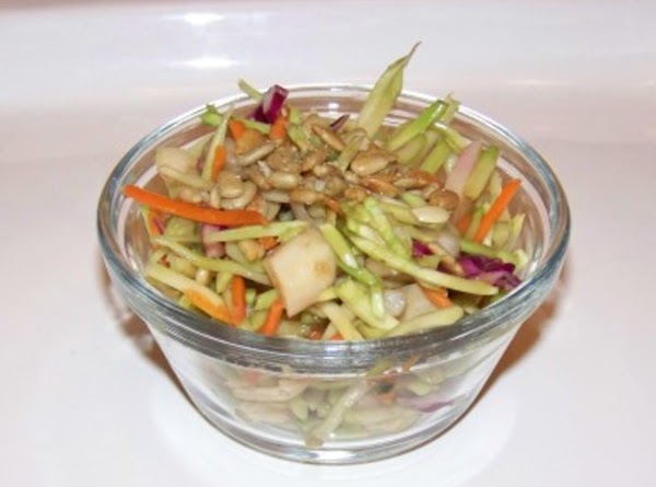 Lisa's Broccoli Slaw Mix Crunchy Salad Recipe