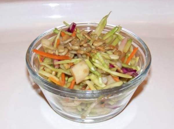 Lisa's Broccoli Slaw Mix Crunchy Salad Recipe