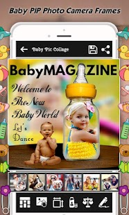Baby Collage : Name, Card, Pics & Photo Frames Screenshot
