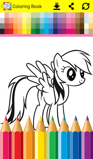 Coloring book for little pony apk 1 1 download only apk Coloring book for me apk