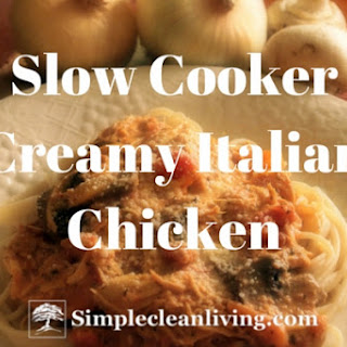 Slow Cooker Creamy Tomato Chicken