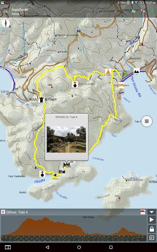 Sifnos Trails topoguide 2.8 screenshots 10
