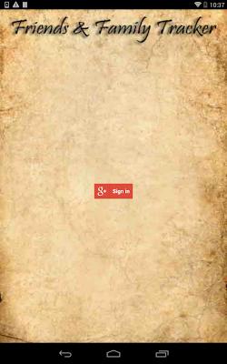 Friends & Family Tracker - screenshot