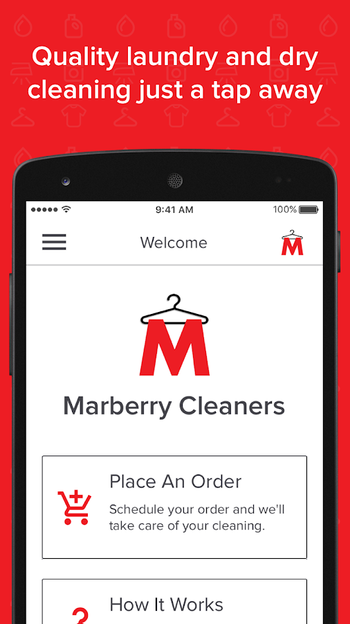 Marberry Cleaners- screenshot