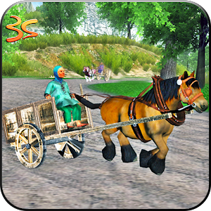 Real Horse Racing Cart Riding for PC and MAC