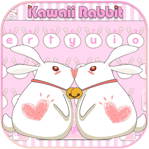 Kawaii Rabbit Keyboard