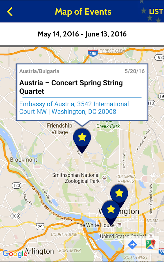 EUintheUS Events- screenshot