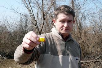 Photo: mézes pálinka kupakból