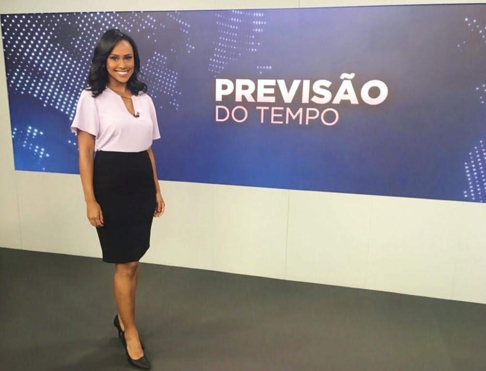 Muito antes da Globo, SBT abriu espaço para uma apresentadora negra apresentar seu principal telejornal