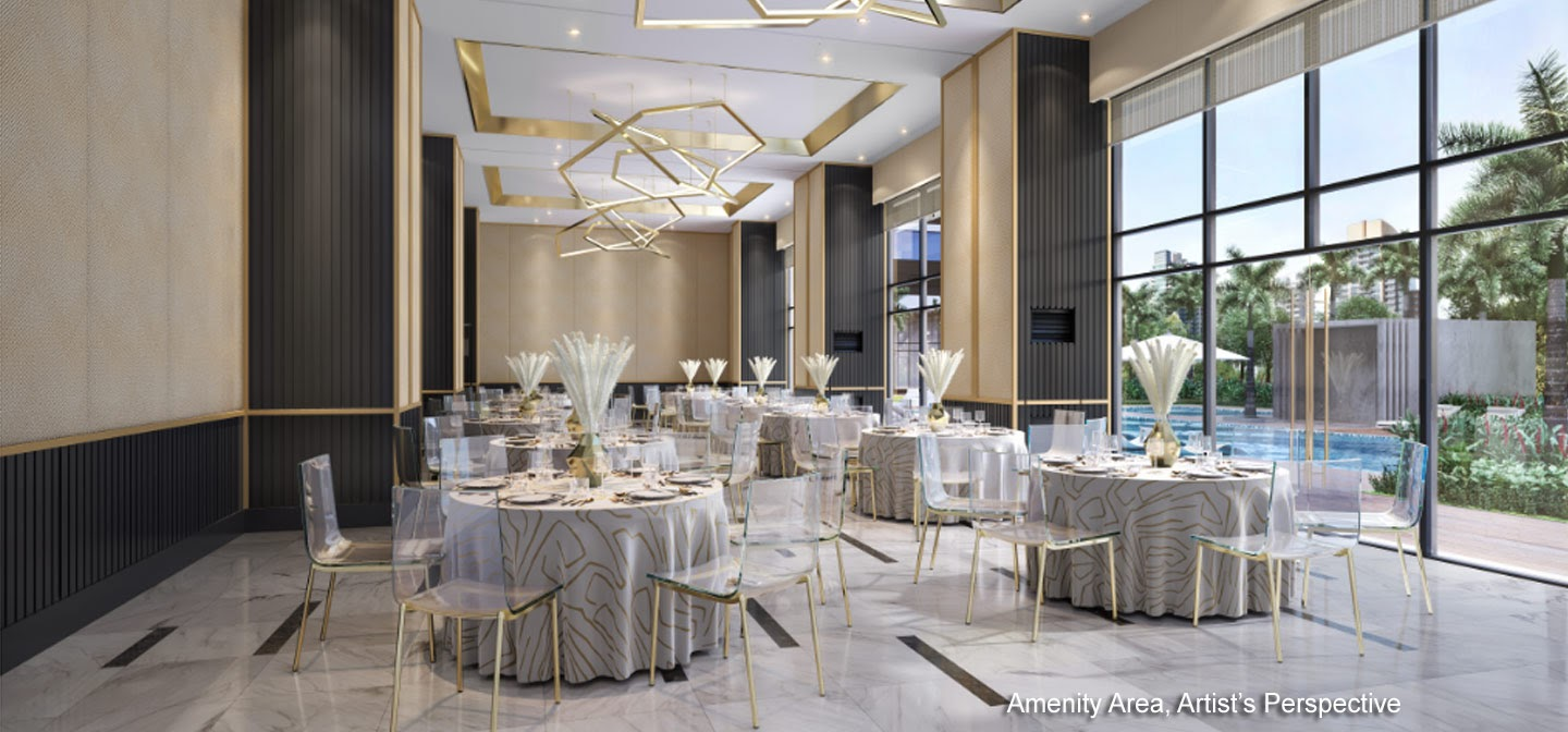 Gold Residences, Paranaque function area