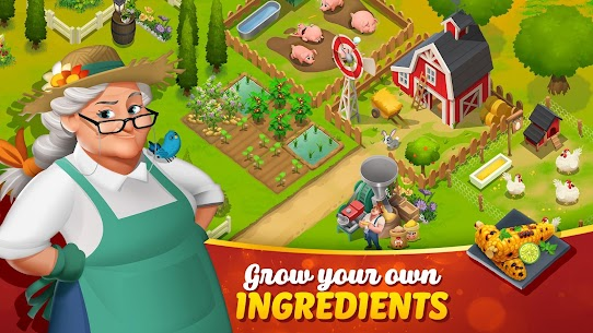 Tasty Town MOD APK 1.17.17 [Fast Cooking] 6