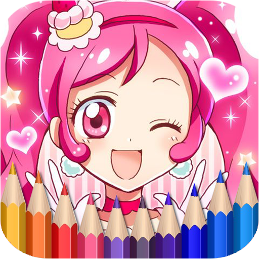 App Insights: How To Color Pretty Cure - Coloring Book | Apptopia