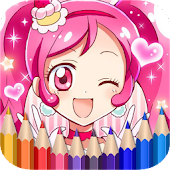 Tải How To Color Pretty Cure APK