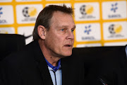 Neil Tovey during the SAFA Press Conference with national team coaches at SAFA House on July 26, 2018 in Johannesburg, South Africa.