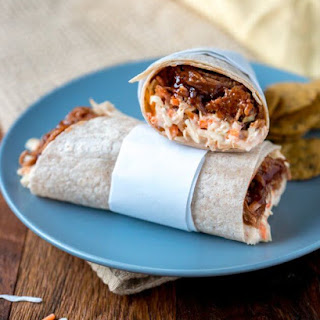 Barbecue Beef Wraps Recipe
