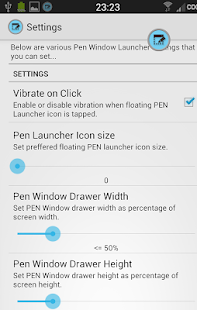 PEN Window Launcher- screenshot thumbnail