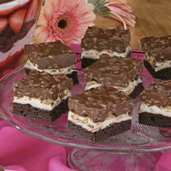 Brownie Mallow Bars Recipe