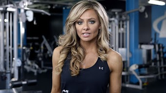 Fitness Model Back Workout