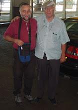 Photo: Verbrüderung mit dem Taxifahrer   Foto Göbel