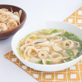 Austrian Pancake Soup (Vegan) Recipe