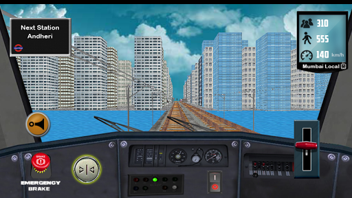 Train Driving Mumbai Local 1.5 screenshots 7