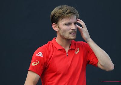 """David Goffin blijft, ondanks enkele mindere resultaten, positief: """"Ik sta niet ver van mijn beste tennis"""""""