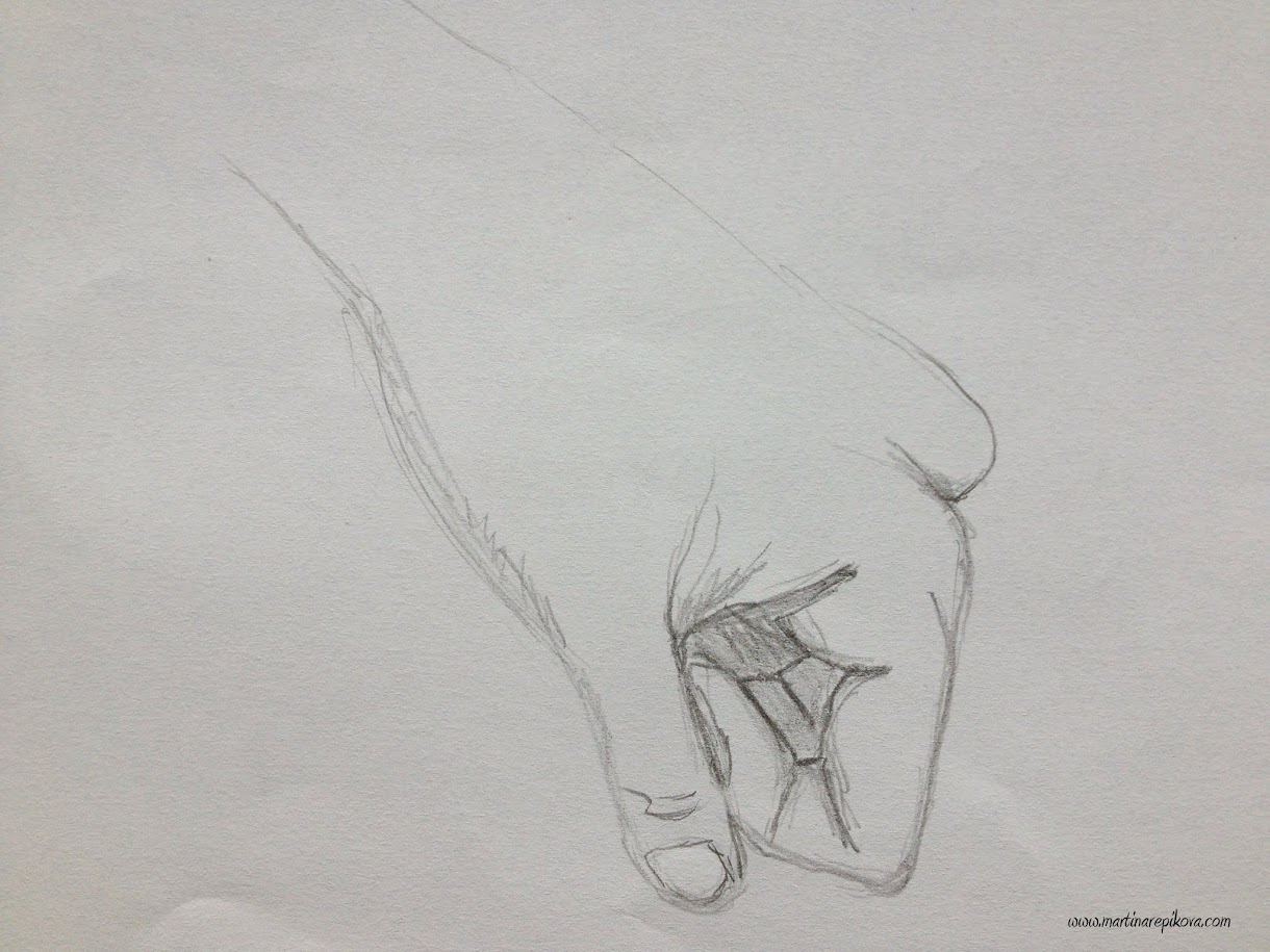Drawing my hand