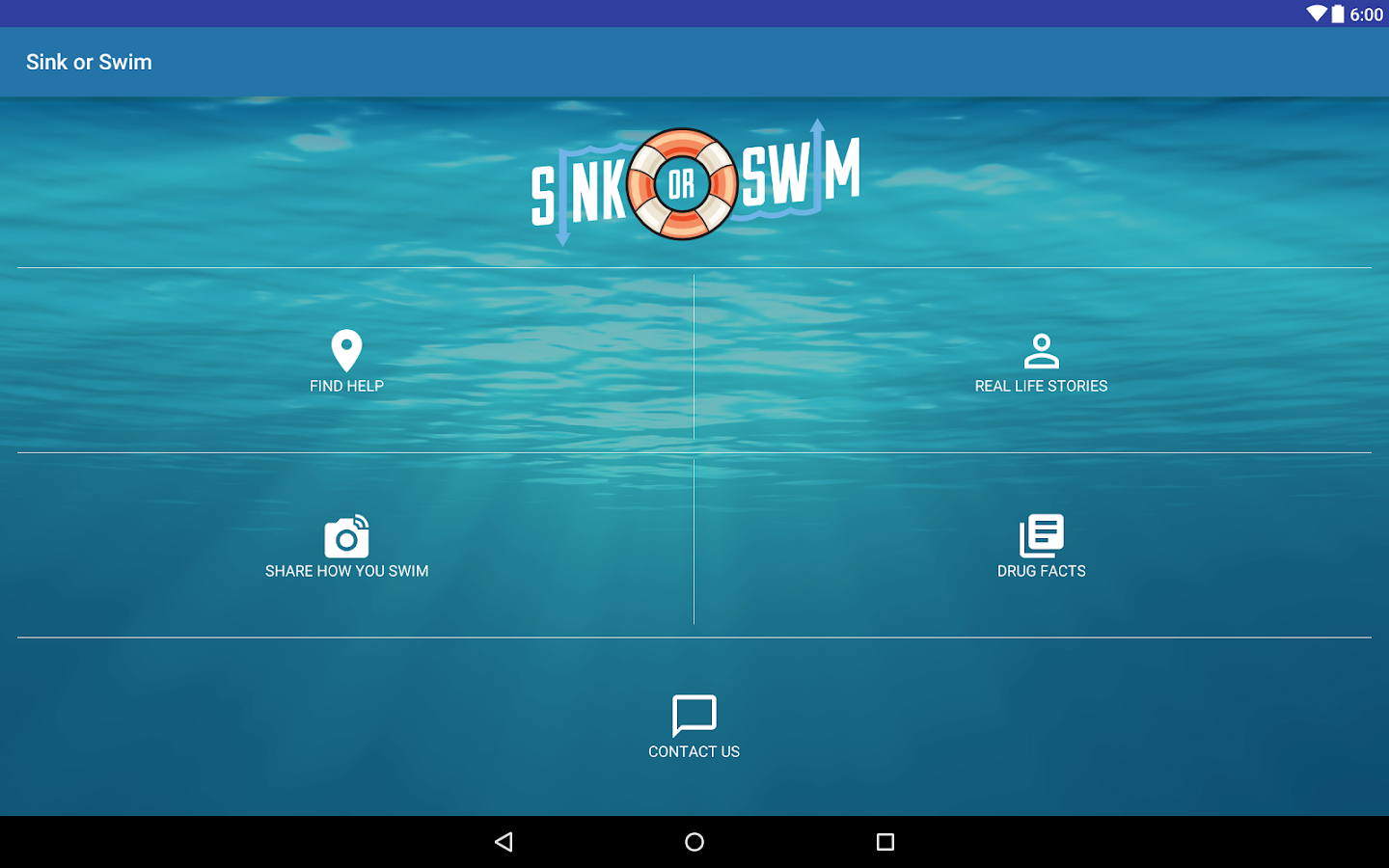 Sink or Swim- screenshot