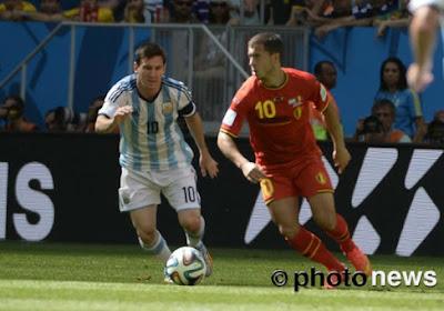 Hazard affronte Messi sur... console