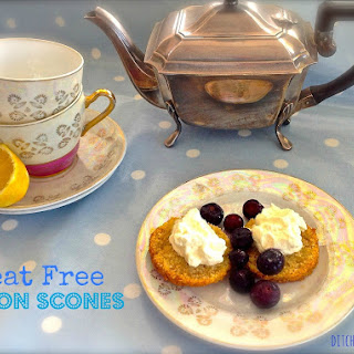 Wheat Free Lemon Scones