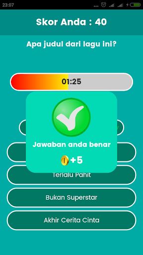 Game Tebak Lagu 1.1.12 screenshots 4