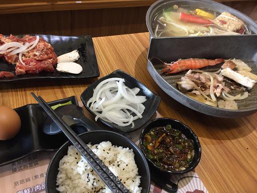 湯頭超👍,食材都很新鮮,活跳蝦真的還是活的欸
