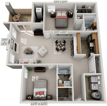 Go to Lily Renovated Floorplan page.