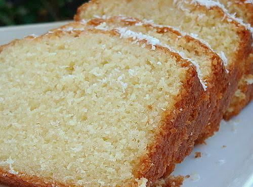 Moist Coconut Loaf Cake Recipe
