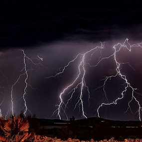 Cirre1 thunder by Christian Wilen - Landscapes Weather ( thunder,  )