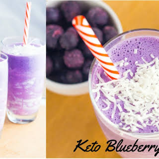 Keto Smoothie - Blueberry Galaxy.