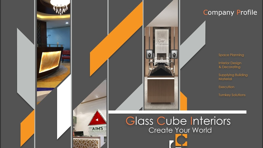 Glass Cube Interiors - Root in Dubai