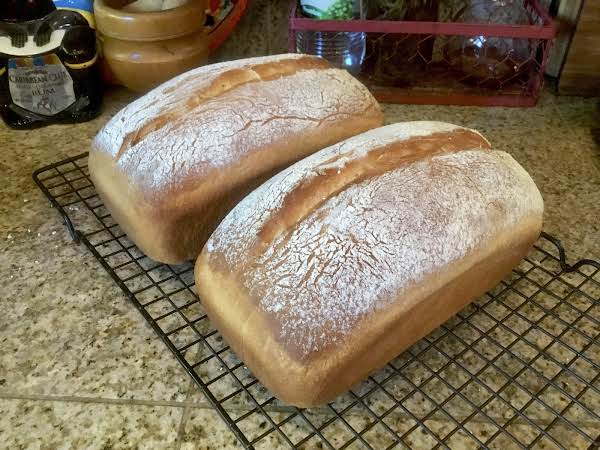 This Recipe Makes 2 Marvelous, Soft Textured And Delicately Flavored Loaves Of Bread. It Is Easy To Slice And Serve Room Temperature Or Lightly Toasted.