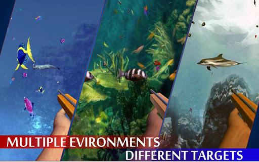 Spearfishing Wild Shark Hunter - Fishing game apkpoly screenshots 6