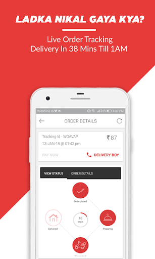 BOX8 - Order Food Online | Food Delivery App  screenshots 7