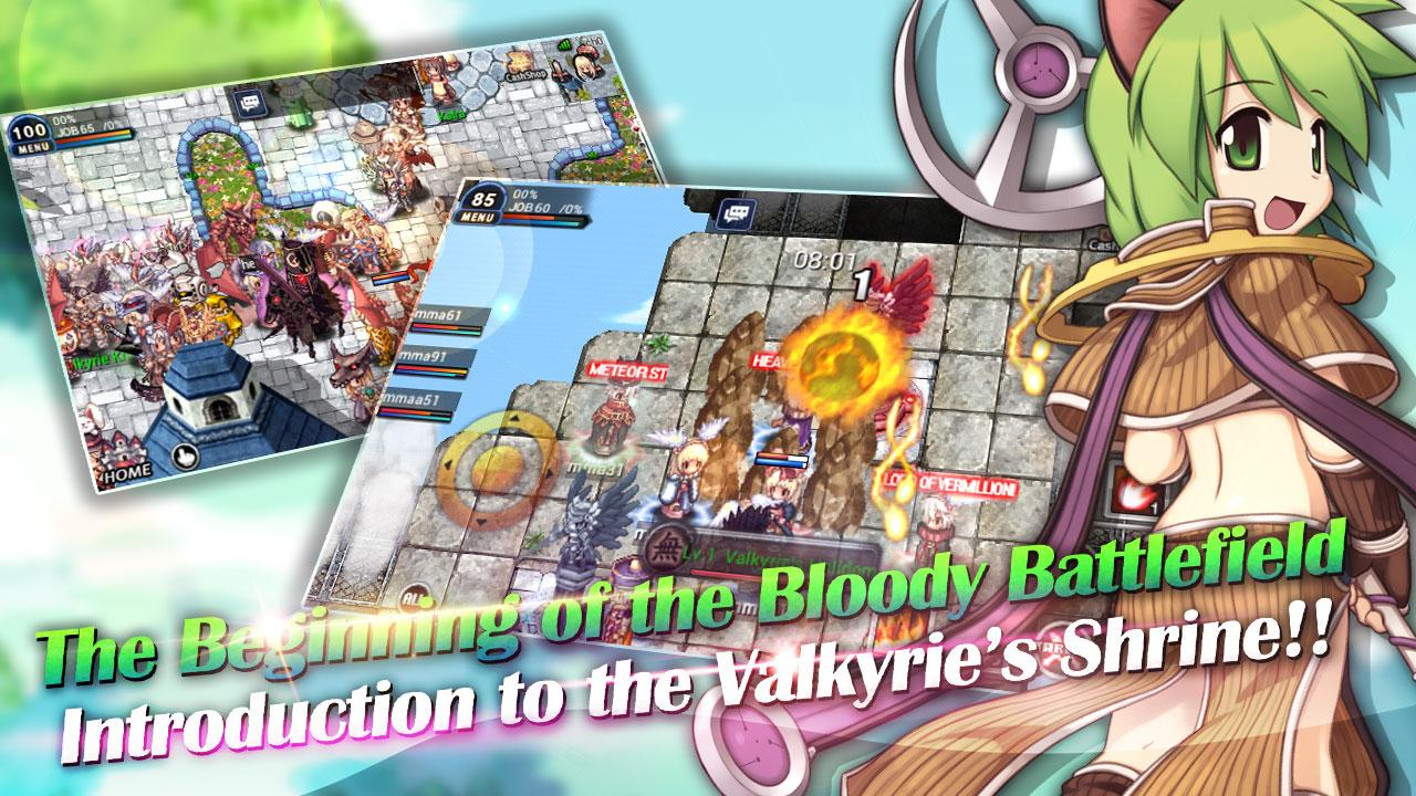 Screenshots of Ragnarok : Path of Heroes for iPhone