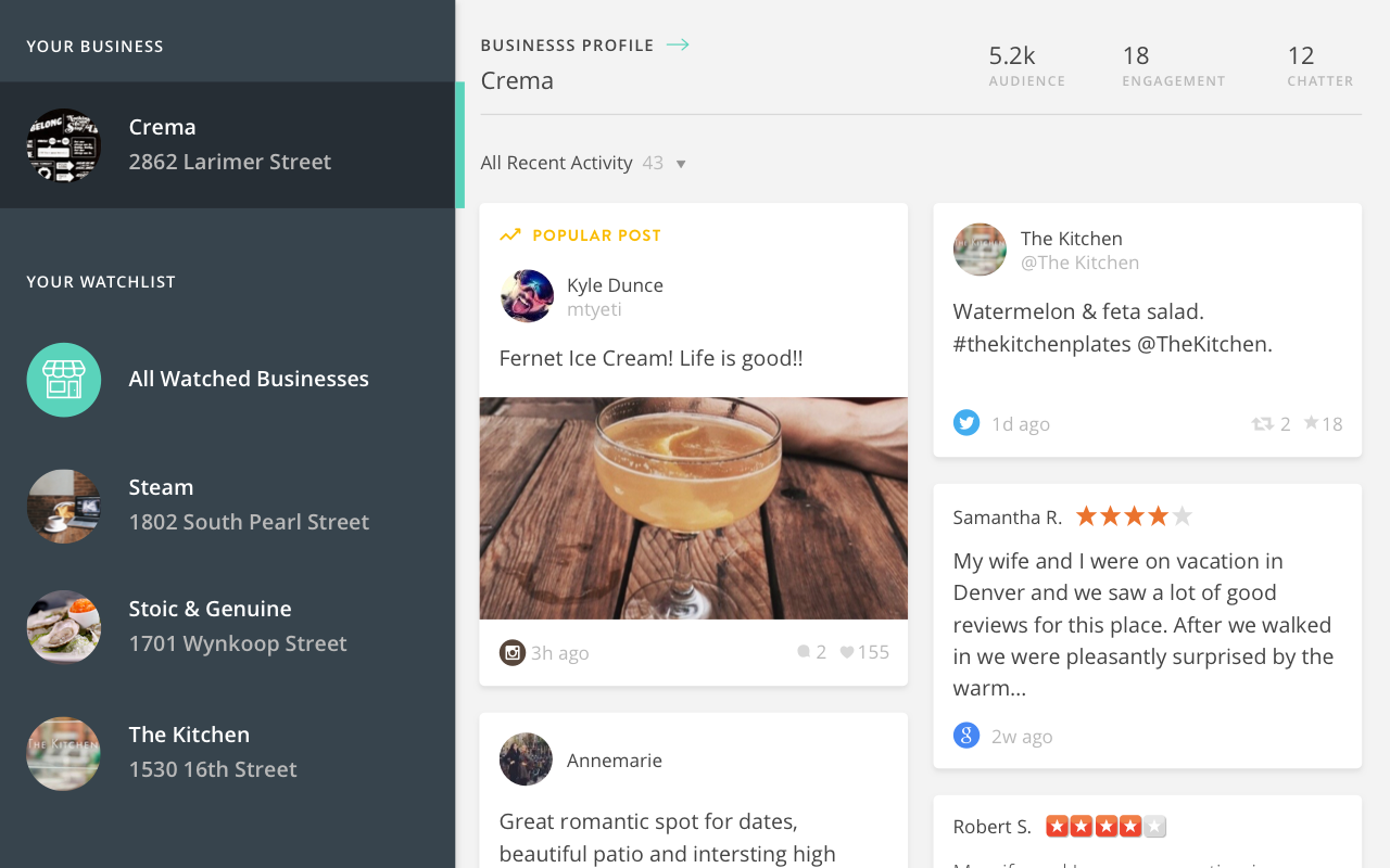 Perch - Small Business- screenshot