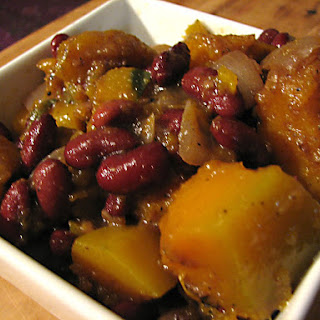 North African pumpkin stew